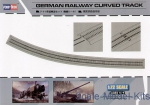 HB82910 1/72 Hobby Boss 82910 - German Railway Curved Track