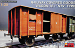 "MA35288 Railway Covered Goods Wagon 18t ""NTV"" Type"