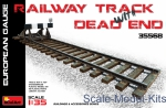 MA35568 Railway track & dead end (European Gauge)