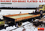 MA39004 Railway non-brake Flatbed 16,5 t