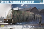 TR00219 German armored locomotive Panzerlok BR57